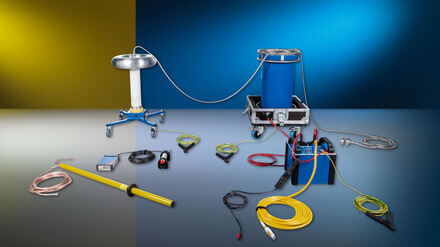 Gas-insulated switchgear (GIS) testing - OMICRON