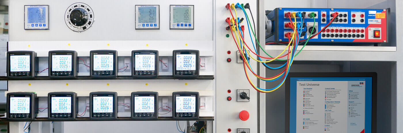 CMC 356 - Universal relay test set and commissioning tool