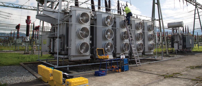 Smart Power Transformer Maintenance Omicron Electrical Relay