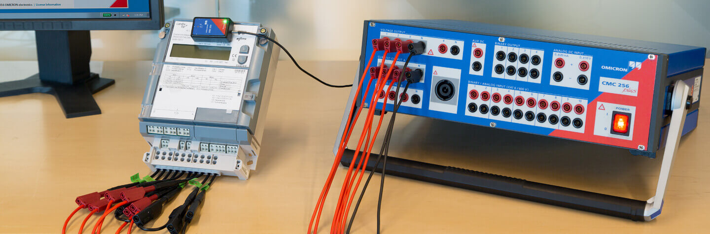 Meter testing on-site and in laboratory - OMICRON