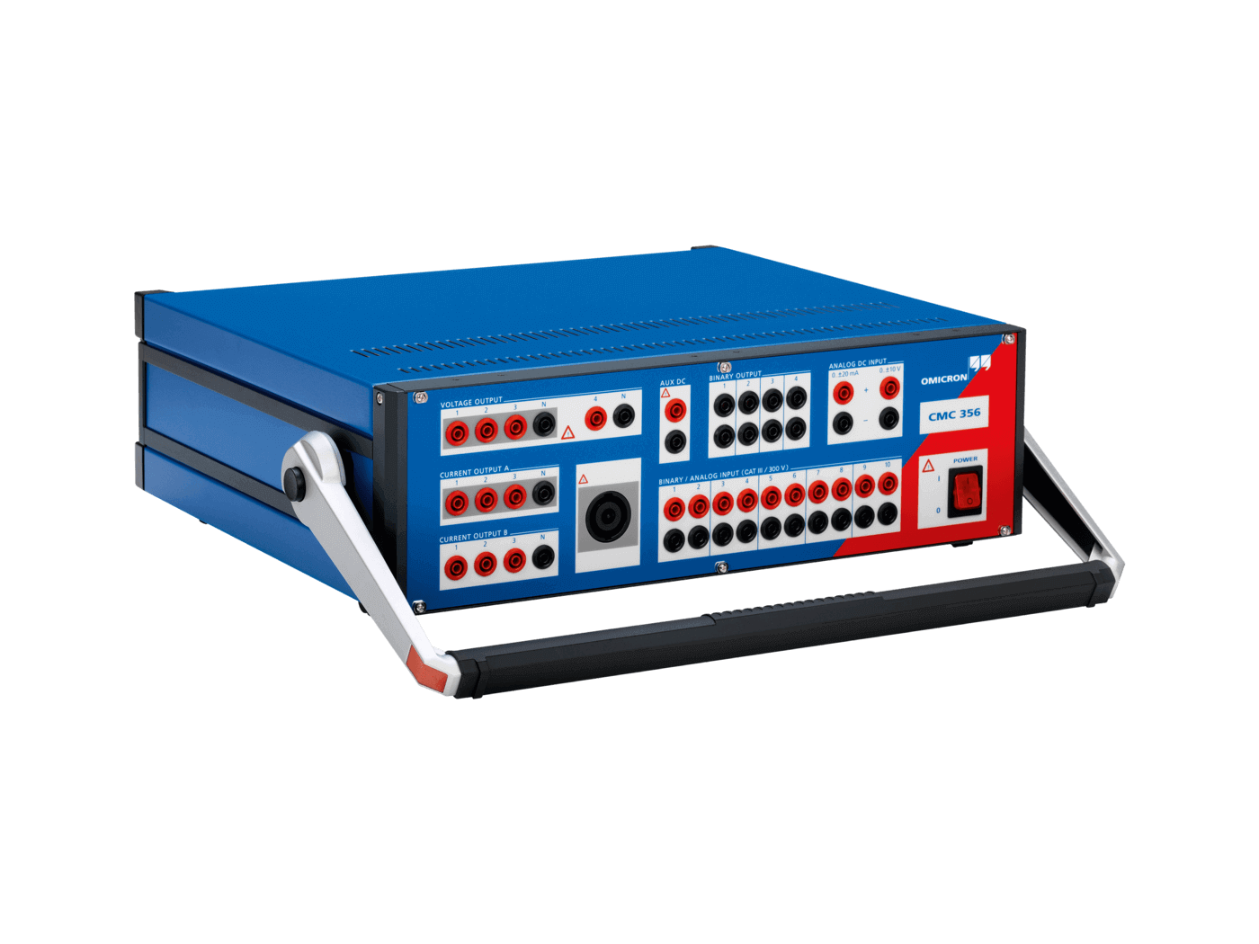Cmc Test Universe Omicron Electrical Relay Testing Kit With Sampled Values