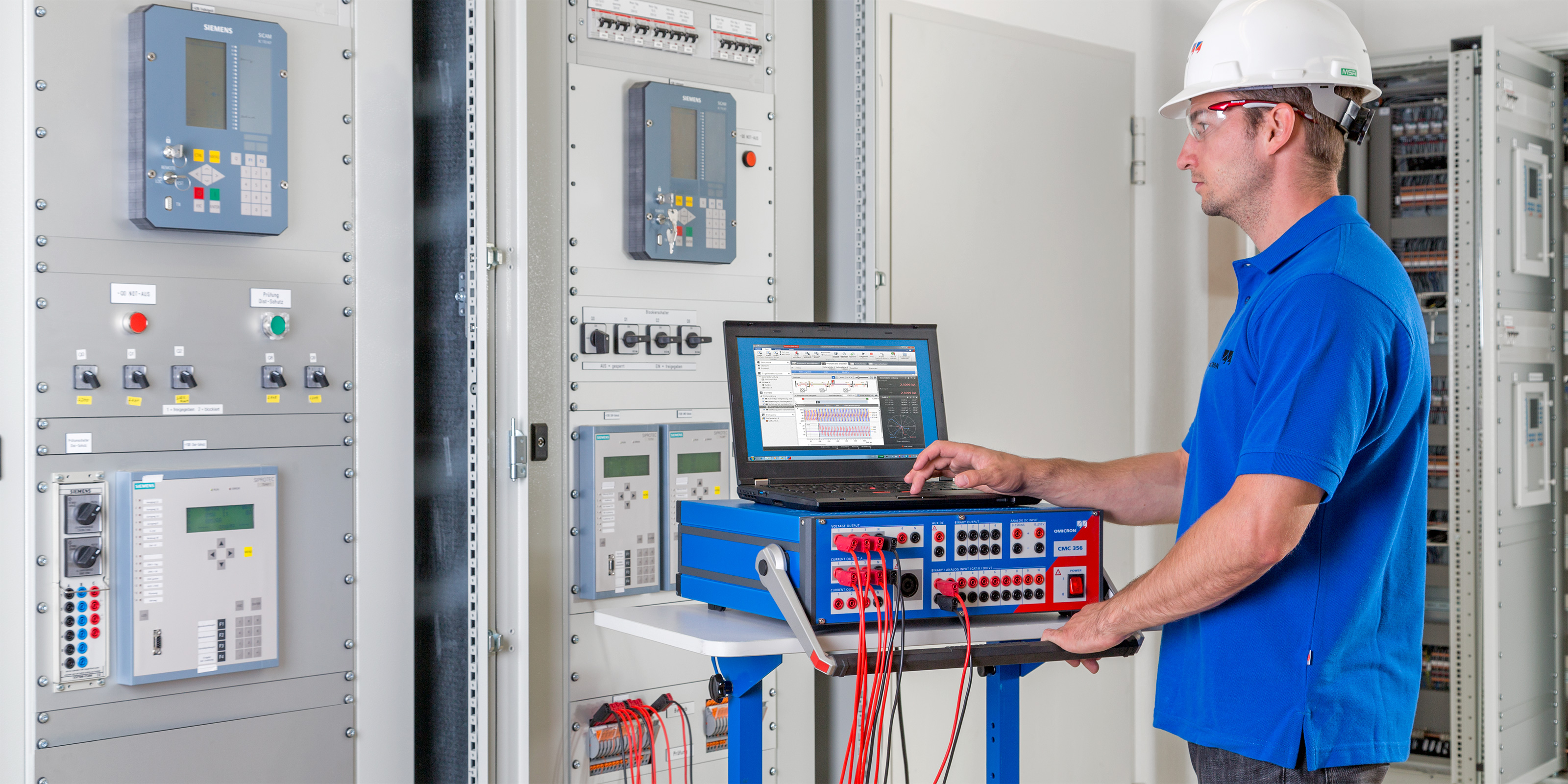 Innovative Power System Testing Solutions Omicron Electrical Relay Maintenance