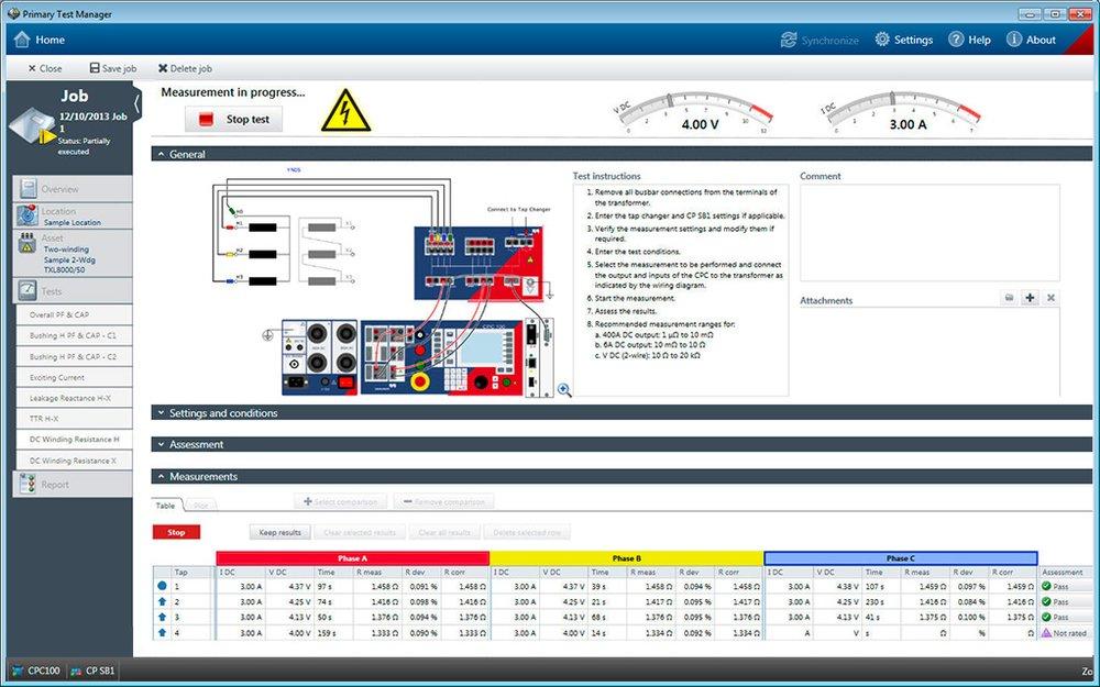 Omicron Cpc 100 User Manual